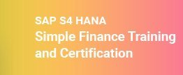 SAP-S-HANA-Simple-Finance-Training-and-Certificat