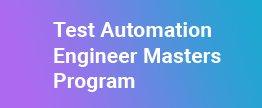 Test-Automation-Engineer-Masters-Program